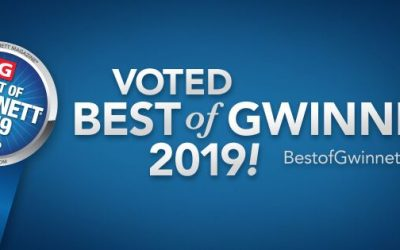 Voted Best of Gwinnett once again for 2019!