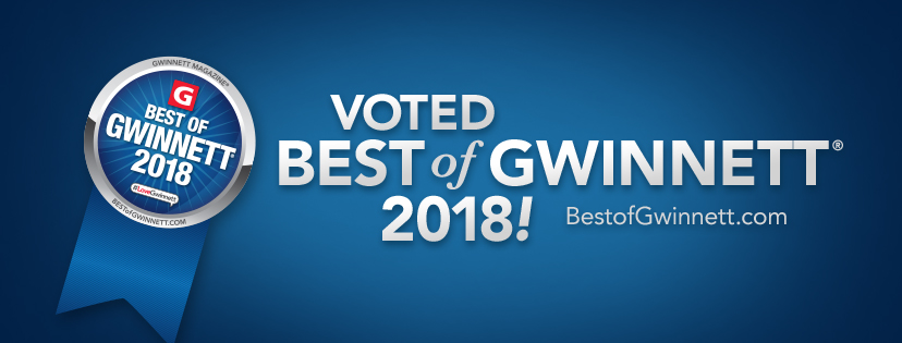 2018 Best of Gwinnett award for Best Medical Practice/Physician in Gwinnett